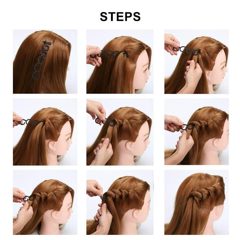 Twist Plait Hair DIY Braid Hairdressing Tools (2pcs)