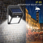 Load image into Gallery viewer, 20 LED Solar Lamps Outdoor, Super Bright Wall Lamp with Motion Sensor