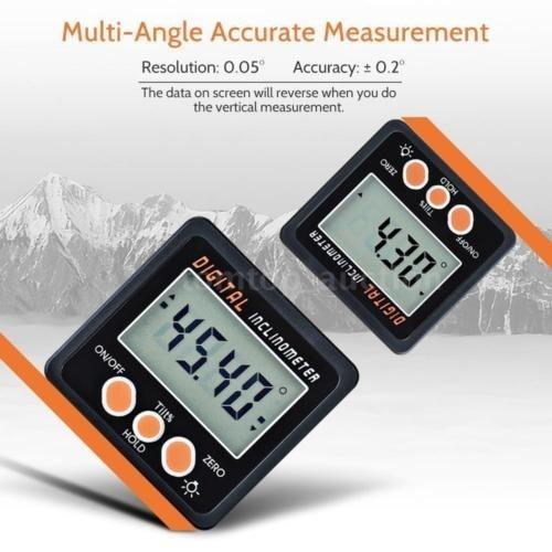 Magnetic Digital Angle Gauge