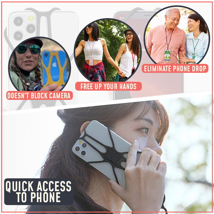 FlexGrip Phone Security Neck Strap
