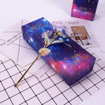 Load image into Gallery viewer, Colorful Galaxy Rose with Love