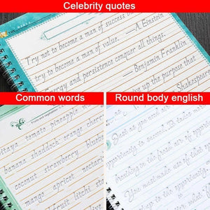 Magic Handwriting Practice Copybook
