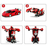 Load image into Gallery viewer, Remote Control Transforming Robot Car