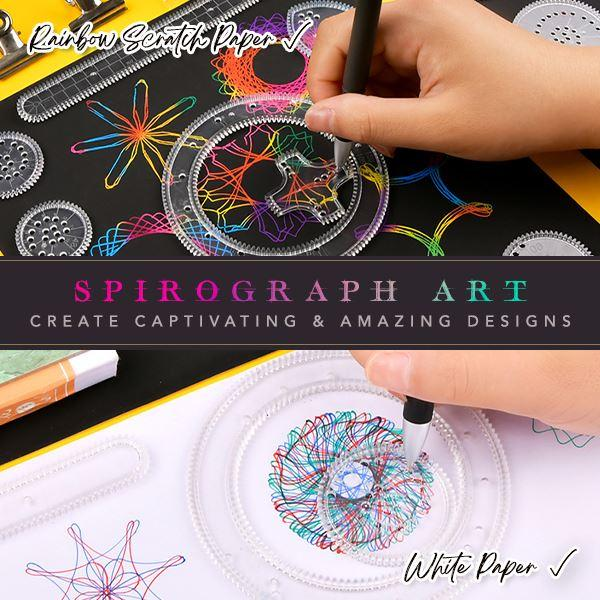 Spirograph Geometric Ruler Set