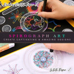 Load image into Gallery viewer, Spirograph Geometric Ruler Set