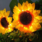 Load image into Gallery viewer, Incredible Solar Powered Sunflower Lights