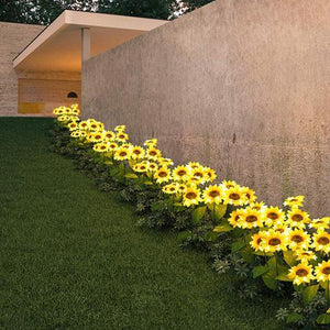 Incredible Solar Powered Sunflower Lights