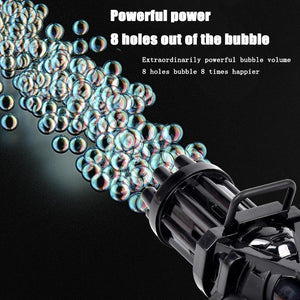 Gatlin Bubble Machine(The best gift ever)