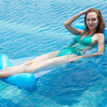 Load image into Gallery viewer, Water hammock recliner inflatable Swimming Mattress