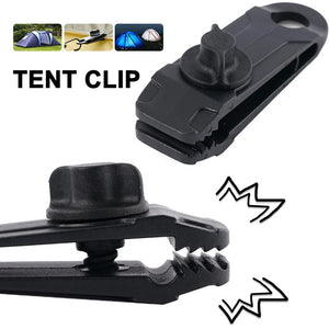 Reusable heavy duty linoleum clip