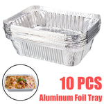 Load image into Gallery viewer, 10pcs Aluminum Foil Drip Pans BBQ Pan