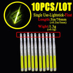 Load image into Gallery viewer, 4.5*40mm fireflies for Fishing Float Fluorescent Lightstick