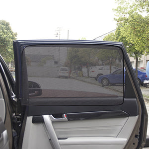 Car Side Window Universal Magnetic Sunshade Curtains
