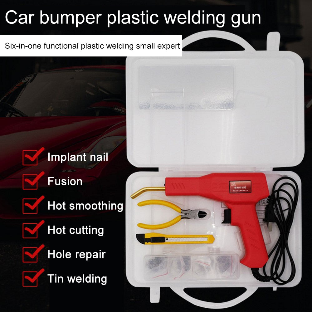 Welding Repairing Tool Hot Staplers Soldering Iron Set