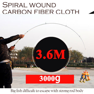2.1M -3.6M Carp Fishing Rod fishing pole