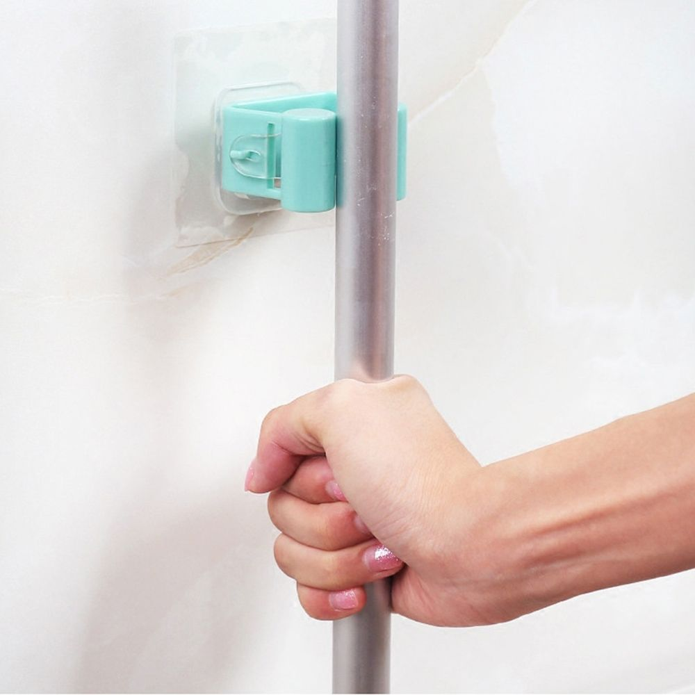 Universal Self-adhesive Wall Mounted Mop Holder