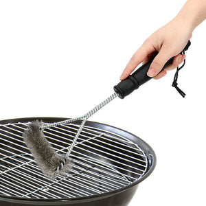 Wire Bristles BBQ Cleaning Brushes With Handle