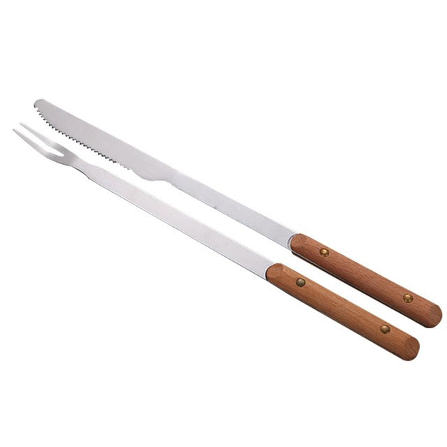 BBQ Tools 8 Inch Stainless Steel