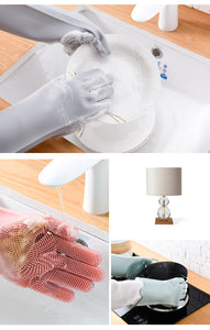 Magic Silicone Dishwashing Scrubber