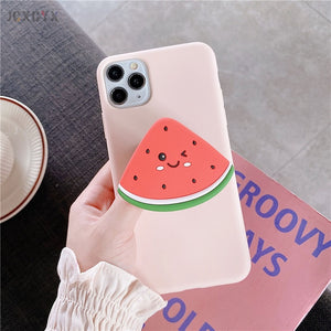 3D Luxury cute cartoon fruit  phone case