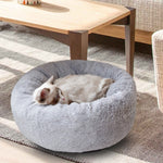 Load image into Gallery viewer, Fluffy Beds For Dog With Pillows Pet Lounger Cushion