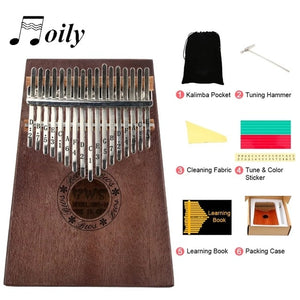 17 Key Thumb Piano
