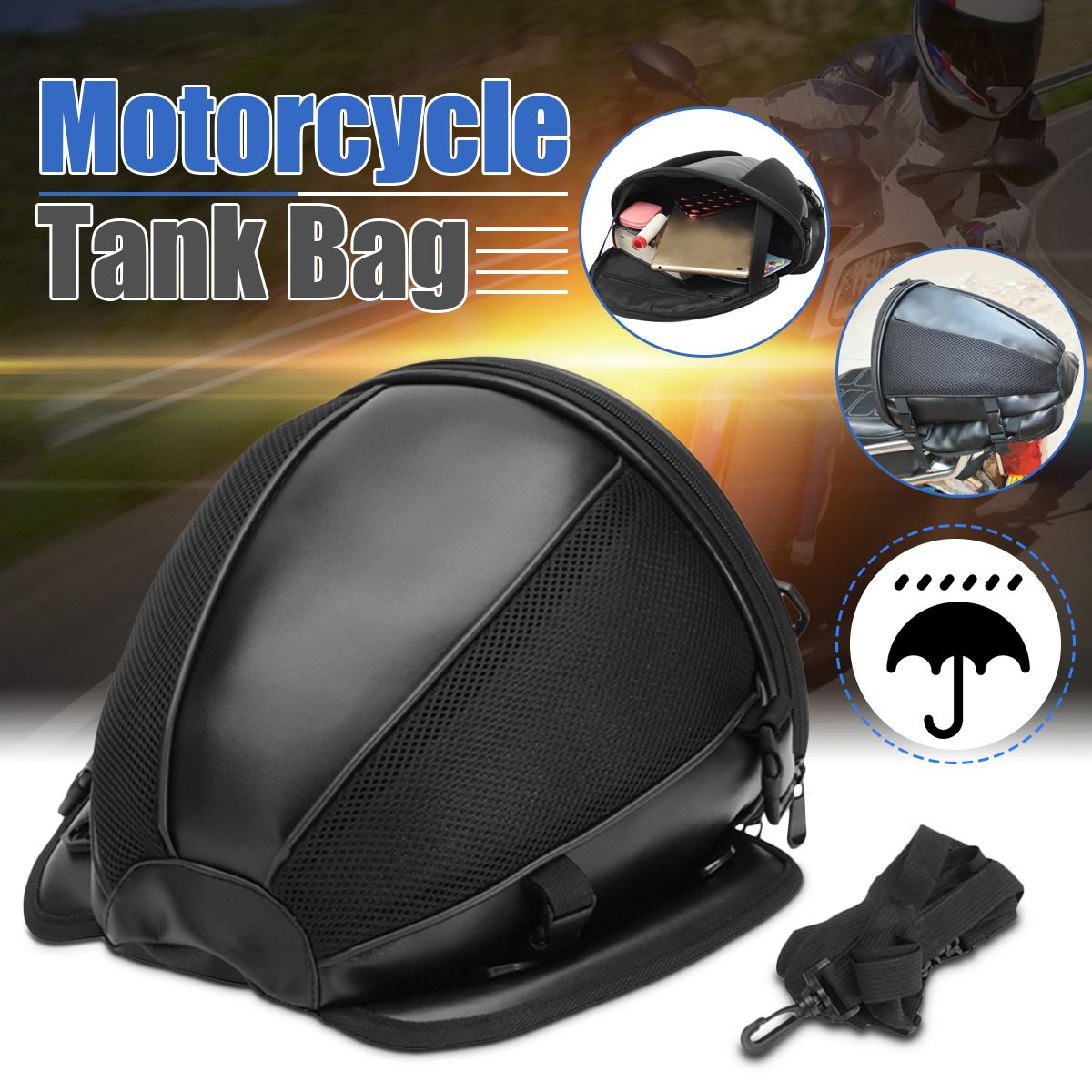 [Hot Sale!!] Motorcycle Retro Tail Bag