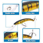 Load image into Gallery viewer, Wobbler Fishing Lure Big Crank Bait