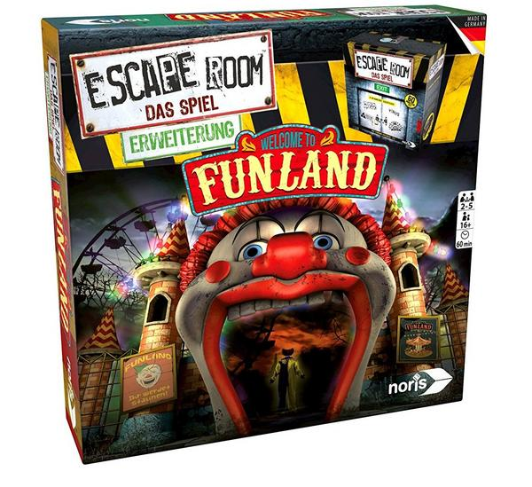 Escape Room Erweiterung: Welcome to Funland