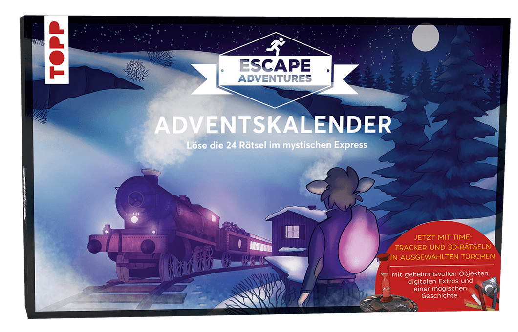 KINDER-ADVENTSKALENDER ESCAPE ADVENTURES - DER MYSTISCHE EXPRESS