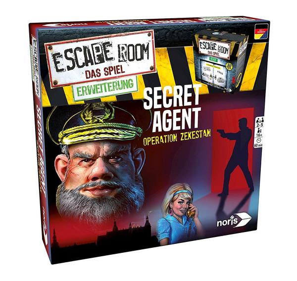Escape Room Erweiterung: Secret Agent - Operation Zekestan