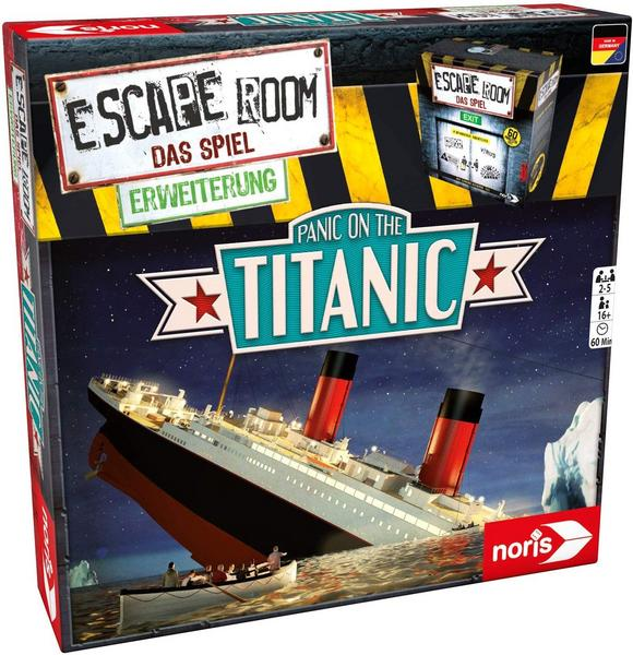 Escape Room Erweiterung: Panic on the Titanic