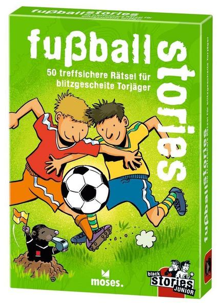 black stories junior - fußball stories