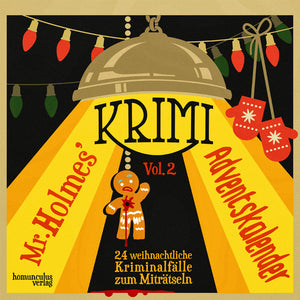 Mr. Holmes Krimi-Adventskalender Vol. 2