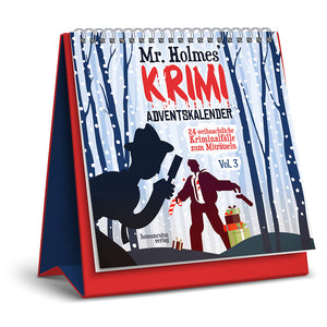 Mr. Holmes Krimi-Adventskalender Vol. 3