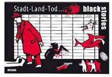 Laden Sie das Bild in den Galerie-Viewer, black stories - Stadt-Land-Tod