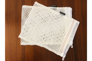 A Set of 2 Washable Face Mask Laundry Bags