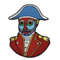 One Flag Nation™ Haitian Pride Embroidered Iron On Patch Jean-Jacques Dessalines
