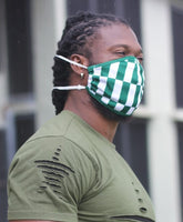Nigerian Pride Face Mask for (Adult) with filter pocket