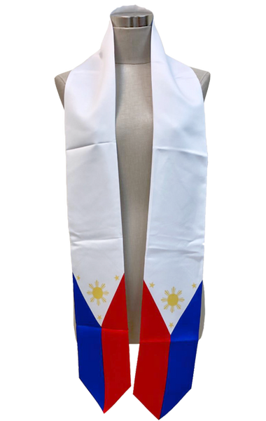 Filipino Flag Graduation Stole