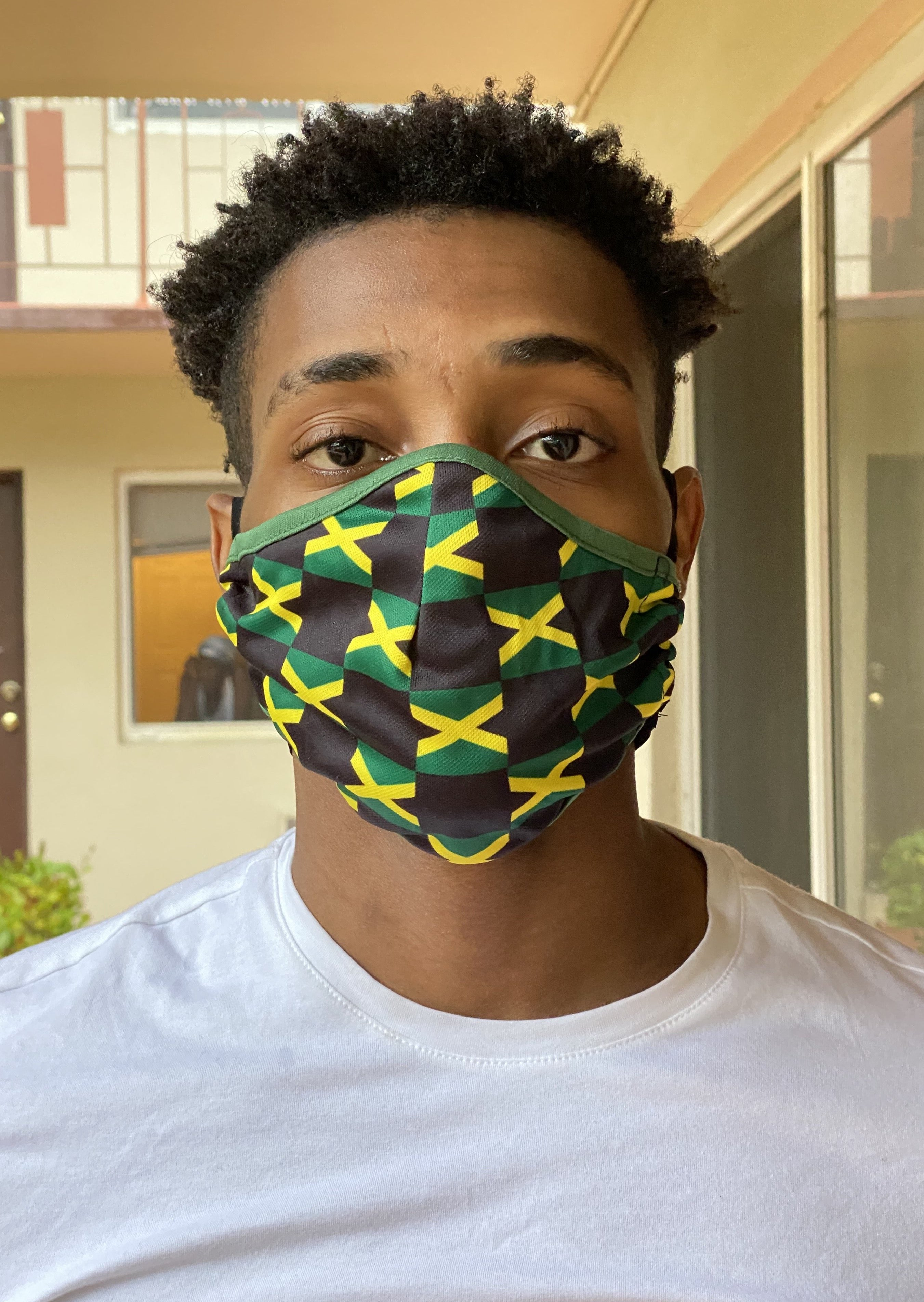 New Arrivals Jamaican Face Mask (Adult) with filter pocket