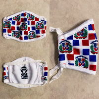 New Arrivals Dominican Republic (DR) Face Mask (Kids) with filter pocket