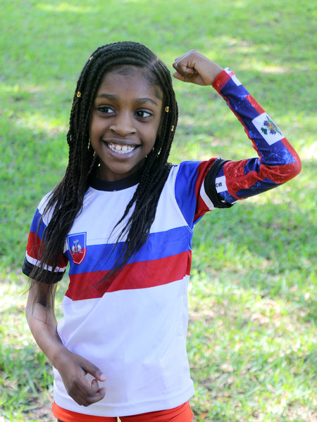 Haitian Pride Sleeve for Kids