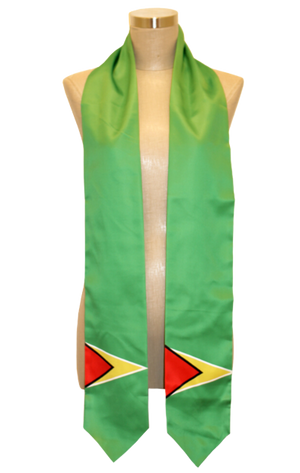 One Flag Nation™ Guyana International Flag Stoles