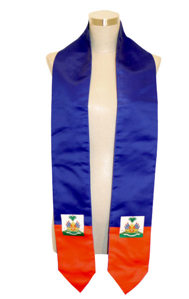 One Flag Nation™ Haiti International Flag Stole
