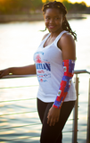 One Flag Nation™ Haitian Flag Sleeve Front_Side View