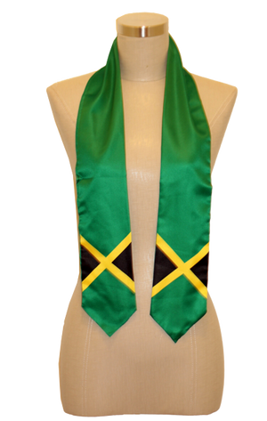 One Flag Nation™ Kids International Flag Stoles Jamaica