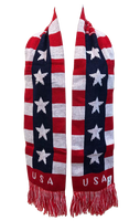 United States of America Flag Neck Soccer Scarf