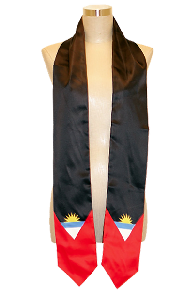 Antigua Flag Graduation Stole