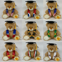 Custom Graduation Bear Flag Stoles (Any Flag)